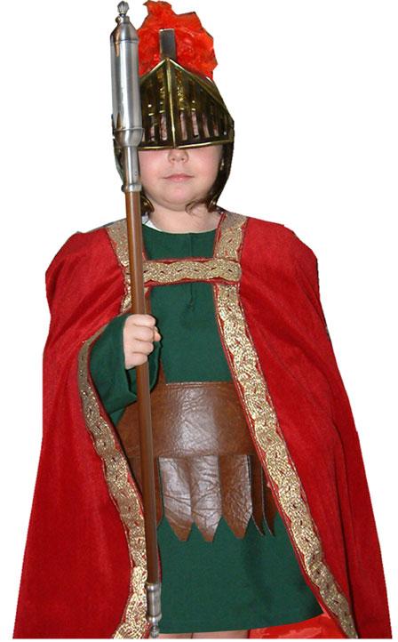 Vestuarios romanos cascos y corazas