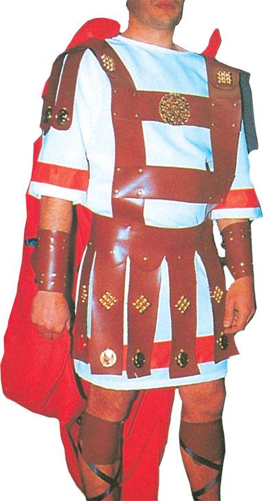 Vestuario para Soldado Romano III con Túnica, Capa y Correajes