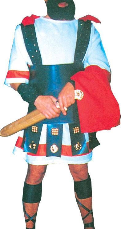 Vestuario para Soldado Romano I con Túnica, Capa y Correajes