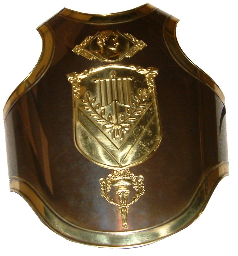 Coraza Romano con Escudo Población